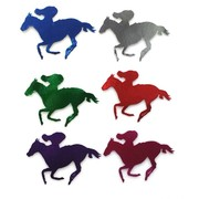 Assoted Colour Small Horse Cutouts (10cm) Pk 12