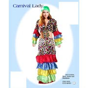 Adult Woman Carnival Rio Lady Costume (One Size) Pk 1