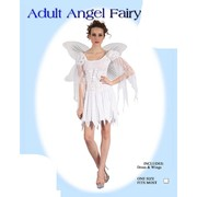 Adult Angel Fairy Costume (One Size Fits Most) Pk 1
