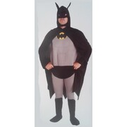 Adult Deluxe Bat Hero Man Costume (X Large, 117-122cm) Pk 1