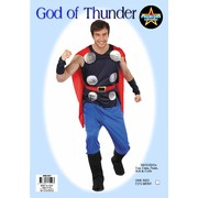 Adult God of Thunder Costume (One Size Fits Most) Pk 1