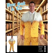 Adult Beer Suit Costume (Medium) Pk 1