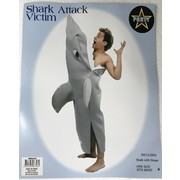 Adult Shark Attack Victim Costume (One Size) Pk 1