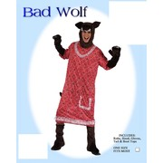 Adult Bad Wolf Costume (One Size Fits Most) Pk 1