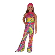 Child Hippie Girl Costume (Medium, 6-8 Years) Pk 1
