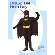 Child Bat Hero Costume (Small, 4-6 Years) Pk 1