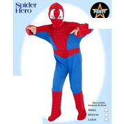 Child Spider Hero Costume (Small, 4-6 Years) Pk 1