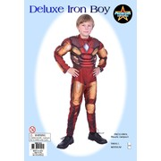Child Iron Boy Costume (Small, 4-6 Years) Pk 1