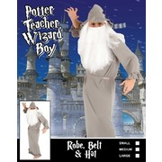 Child Wizard Teacher Costume (Small, 4-6 Years) Pk 1