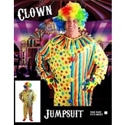 Adult Clown Jumpsuit Costume (One Size) Pk 1