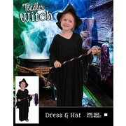 Toddler Witch Halloween Costume (One Size) Pk 1
