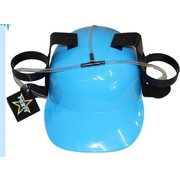Blue Drinking Hat with Straw Pk 1
