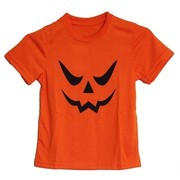 Halloween Child Orange Jack O Lantern Costume T-Shirt (X Large) Pk 1