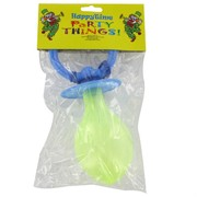 Baby Shower Favours - Giant Blue Plastic Dummy Pk1