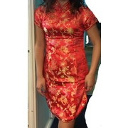 Adult China Doll Dress Costume (XL, Size 12) Pk 1