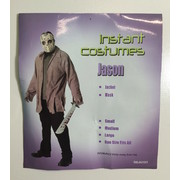 Adult Jason Costume (One Size Fits Most - Jacket & Mask Only) Pk 1