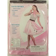 50s Rock n Roll Bopper Female Costume Pk 1