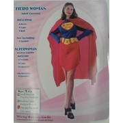 Female Superhero Adult Costume Pk 1