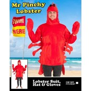 Adult Mr. Pinchy Lobster Costume (One Size) Pk 1