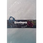 Silver Envelopes (121mm x 185mm) Pk 10