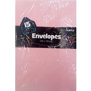 Pale Pink Envelopes (101mm x 151mm) Pk 15