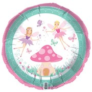 Fairies 18in Foil Balloon Pk 1