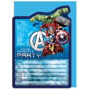 Marvel Avengers Invitations & Envelopes Pk 16