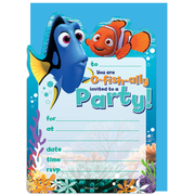 Finding Nemo Invitations & Envelopes Pk 16