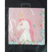 Unicorn Party 2 Ply Lunch Napkins Pk 20