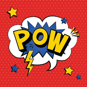 Superhero Party 2 Ply Lunch Napkins Pk 20