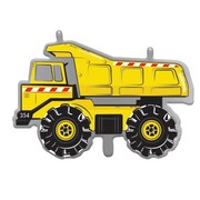 Yellow Truck Supershape Foil Balloon (58cm) Pk 1
