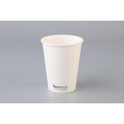 Eco White Single Wall 12oz. (354ml) Coffee Cup Pk 50