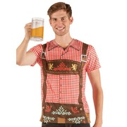 Men's Oktoberfest Faux Real T Shirt (XX Large) Pk 1