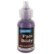 Lilac Glitter Face Paint 36ml Pk 1
