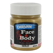 Face Paint - Gold 40ml Pk1