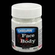 White Face Paint 40ml Pk 1