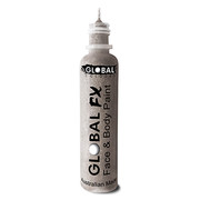 Holographic Silver Glitter Face and Body Paint (36ml) Pk 1