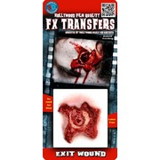 Small Exit Wound 3D FX Scar Transfer Pk 1