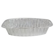 Aluminium Foil Tray Large Oval Roast 445x344x85mm Pk1