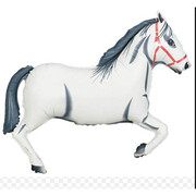 White Horse 43in. Supershape Foil Balloon Pk 1 (Melbourne Cup)