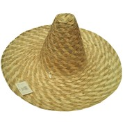 Large Mexican Straw Sombrero Hat Pk 1
