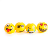 Assorted Emoji Splat Ball Party Favour Pk 4