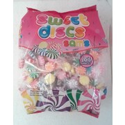 Assorted Colour Sam's Sweet Discs (480g - Approx. 150 Discs)