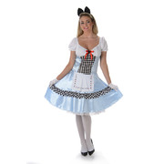 Adult Alice Costume (Medium, 12-14) Pk 1