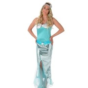 Adult Mermaid Costume (Medium, 12-14) Pk 1