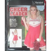 Adult Cheer Leader Costume (XL, 20-22) Pk 1
