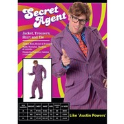 Adult Secret Agent Costume (X Large, 117-122cm) Pk 1