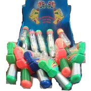 Assorted Colour Water Pistol with Jelly Beans (10g) Pk 12