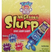 Assorted Flavour TNT Mega Sour Slurp (23g) Pk 24