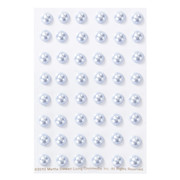 Ice Water Dimensional Pearl Stickers Pk 48